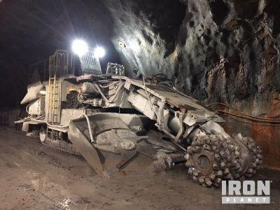 2009 (unverified) Sandvik MT720 Crawler Boom Type Tunneling Roadheader