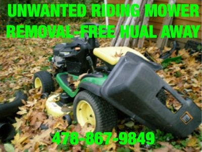 Mowers/atv/tractors/dirtbikes etc