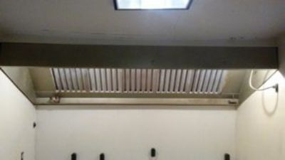 vent hood with lights