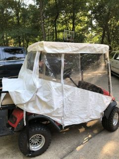 Golf Cart ez-go Vinyl Rain Cover