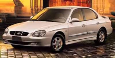 2000 Hyundai Sonata Base (Burgundy)