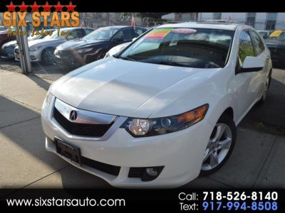 2009 Acura TSX Base (White)