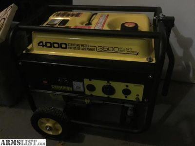 For Sale/Trade: Champion Generator
