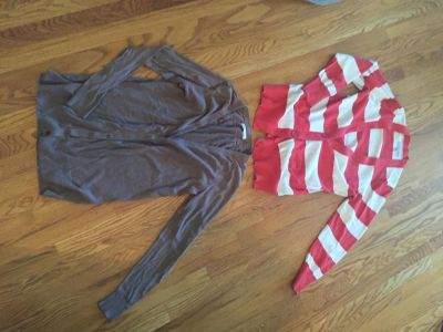 2 Old Navy Cardigans Size L