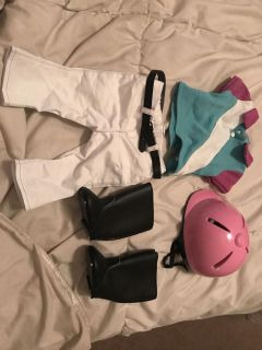 American Girl sporty riding outfit