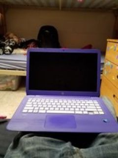 good condition hp laptop