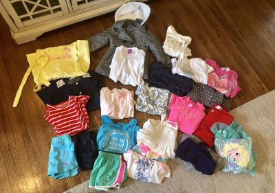 Mixed lot of girls clothes-3T