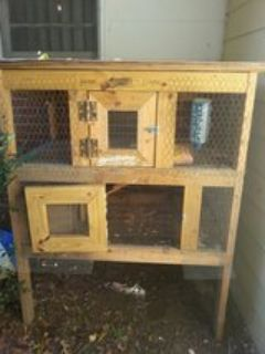 Solid wood critter cage