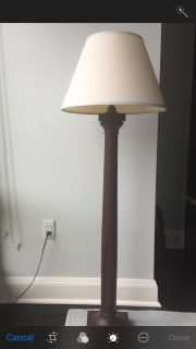 Pottery Barn Kids Floor Lamp with Shade