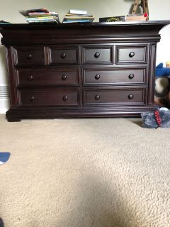 Dresser for nursery or young child