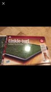 Prevue tinkle turf dog potty for large sz dogs brand new