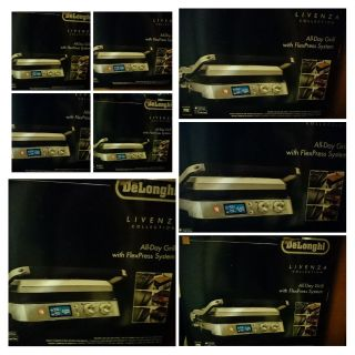 New in box delonghi livenz all day grid with flex press system