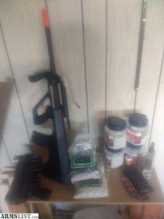 For Sale: Airsoft guns, pellets, etc... Jg au-1g, mp5