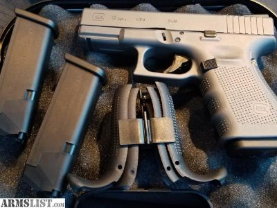 For Sale/Trade: LNIB Grey Glock 19 w/ TFOs and holster