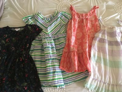 Lot of size 5T dresses- lula roe, gymboree, old navy, and crazy 8