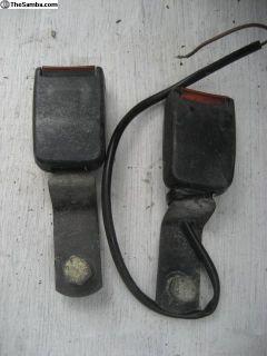 front seat belt receiver short