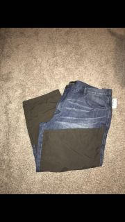 New with tags ($59.99) men s jeans size 48x30 from Cabellas Upland Roughneck