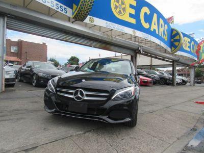 2015 Mercedes-Benz C-Class 4dr Sdn C 300 Sport 4MATIC (Black)