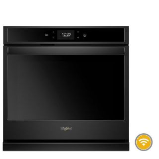 """Whirlpool Black 30"""" Smart Single Wall Oven *Discontinued* WOS72EC0HB"""