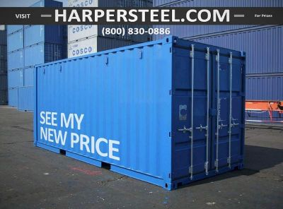 Steel Shipping Containers Seattle Area - Largest Selection W/Delivery Options!