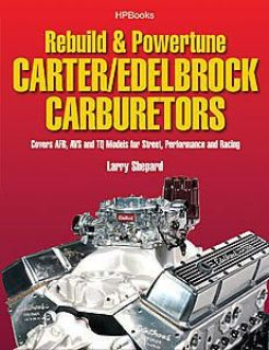 Purchase HP Books 1-557-885555 Book: Rebuild & Powertune Carter/Edelbrock Carburetors motorcycle in Delaware, Ohio, United States, for US $18.65