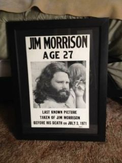 Jim Morrison-Framed Art
