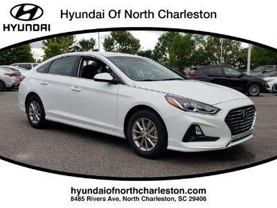 2019 Hyundai Sonata SE (Quartz White Pearl)