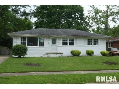 3 Bed 1 Bath Foreclosure Property in Springfield, IL 62703 - Glen Aire Dr