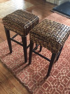 Counter height bar stools - 2