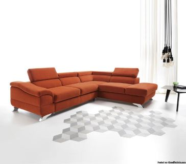 New modern sofa with adjustable headrests