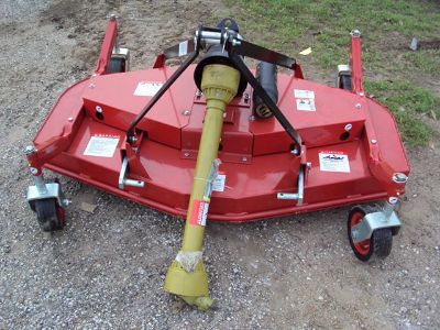 3pt 5 foot NEW rear discharge finish mower