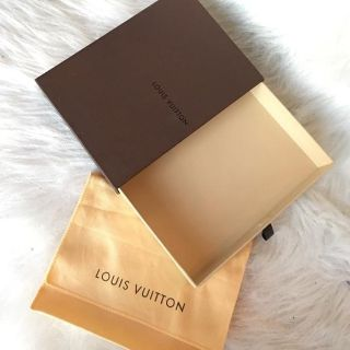 ISO LV gift box and dust bag Vuitton