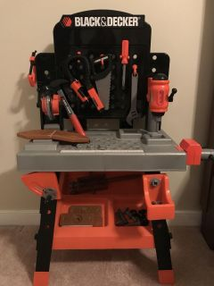 Black and Decker Kids Workbench with Tools