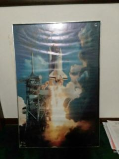 Space shuttle poster.