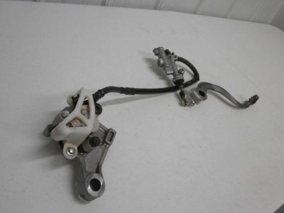 Sell 2008 Honda CRF150R CRF 150 R Rear Brake Assembly Brakes 07 - 13 motorcycle in Oconomowoc, Wisconsin, US, for US $70.00