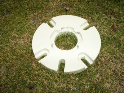 Rear wheel weights for Gravely and others