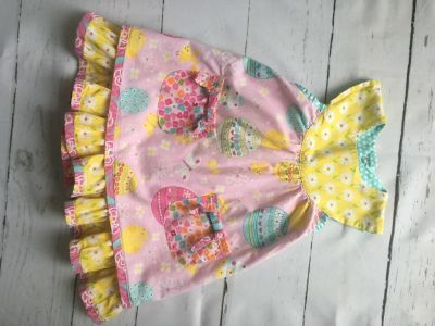 3T Jelly the Pug Easter dress