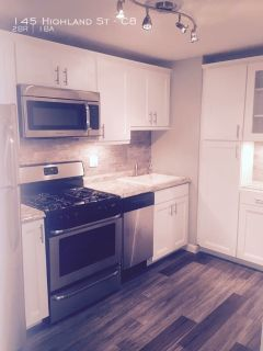 Beautifully renovated 2 bedroom with heat, hot water, and gas cooking included