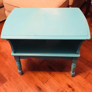 $25 MUST GO!!! Old style side table/night stand, great project piece, size 28 L x 19 W x 23 H
