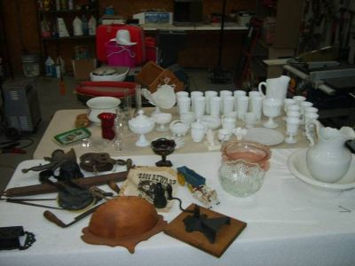 HODGE PODGE OF ANTIQUES AND COLLECTABLES