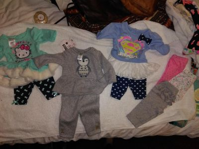 Nb baby girl lot 20 pieces