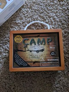 Travel Camp game