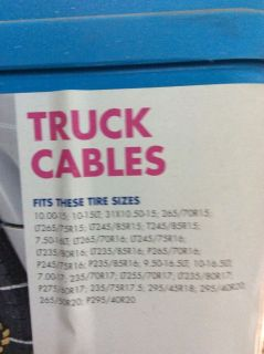 Truck Snow Cables