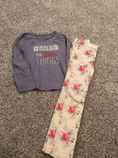 Gap size 5 top and skinny jeans. Like new! $7