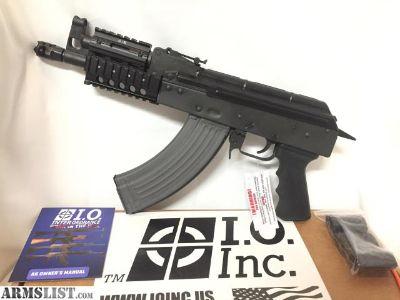 """For Sale/Trade: New IO Nano M214 Micro Draco AK Pistol 762x39 Mini 7"""" Barrel Quad Rail"""
