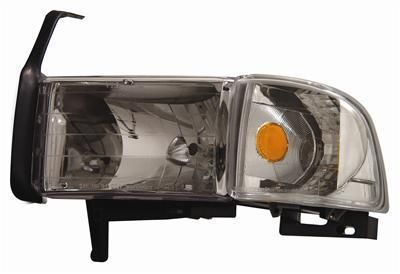 Sell Anzo Headlights 111068 Clear W/Chrome Housing 1994-2001 Dodge Ram 1500 motorcycle in Tallmadge, Ohio, US, for US $189.97