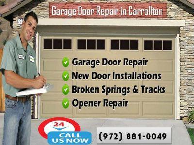 Trusted Garage Door Repair Company in Carrollton, TX