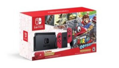Mario Odyssey Nintendo Switch +6games,+4other controllers