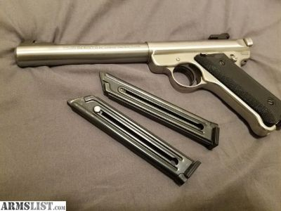 For Sale: Ruger mark ll government target