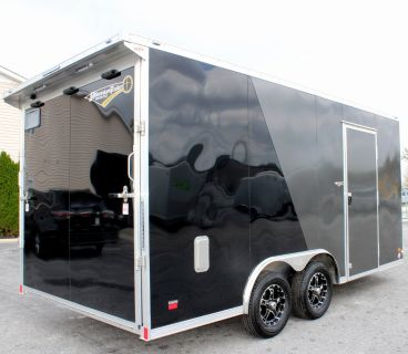 2019 8.5' x 16' All Aluminum Star Enclosed Trailer Alum Whee